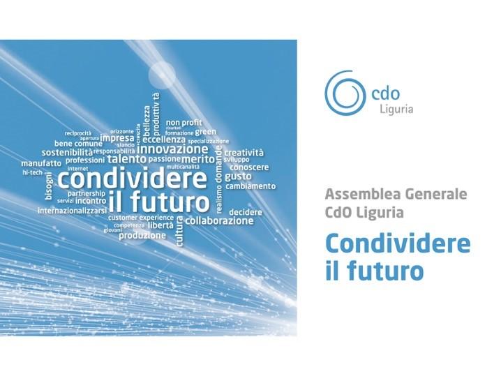 CONDIVIDERE IL FUTURO  – 19 Ottobre 2016 – Assemblea generale CdO Liguria